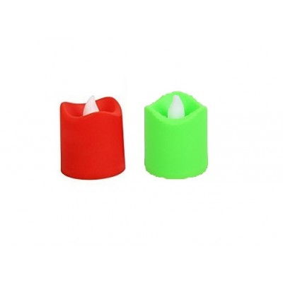 Pack of 2 Multi Led Candles