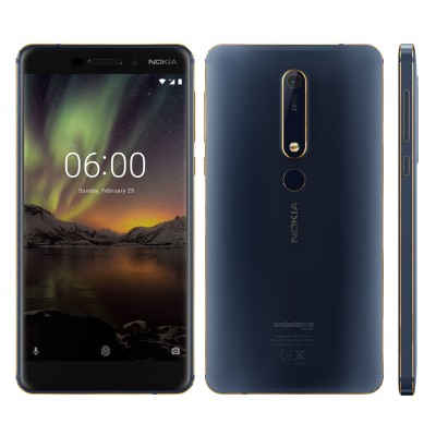 "Noka 6.1 - 5.5""Screen - 4 GB RAM - 64GB ROM - Blue Golden"