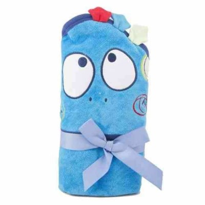Novelty Towel For Baby Washing Sensitive Skin 30X30 Inch 100% Cotton Blue