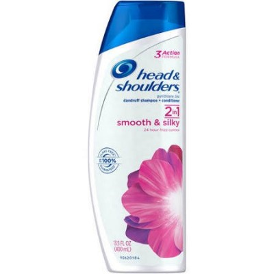 Head & Shoulders Shampoo+Conditioner Smooth&Silky 400ml