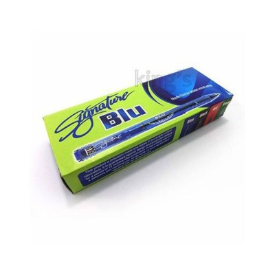 Pack of 10- Signature Blu Ball Point BLUE