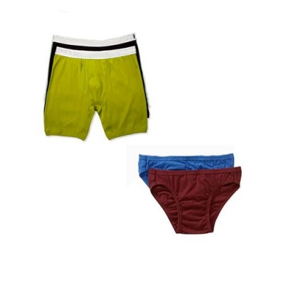 Pack of 4-Multicolor Cotton Boxer &  Brief Innerwear for Men-XL