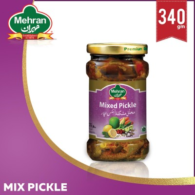 Mixed Pickles 340 Gm