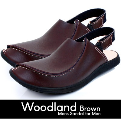 Woodland Brown Mens Sandal For Men