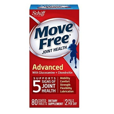 Move Free Advanced Plus Msm With Glucosamine & Chondroitin 80 Tablets