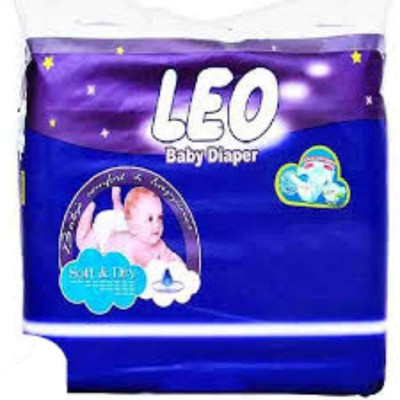 Baby Diaper Premium White Small - 4 Size - 48 Pcs