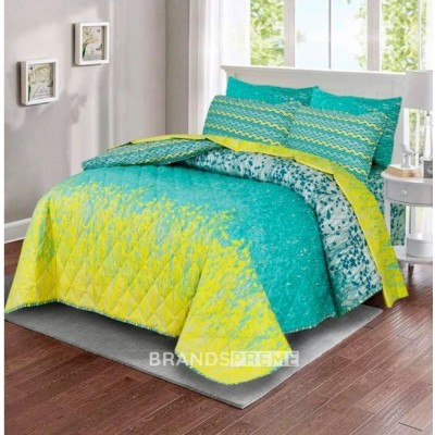 Printed Cotton Bed Sheet with American Design