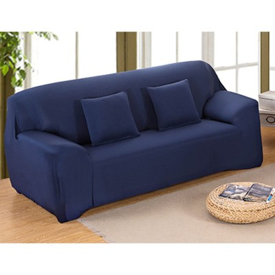 Navy Blue 5 Seater (3+1+1) Sofa Cover