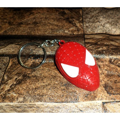 Spider Man Mask Keychain