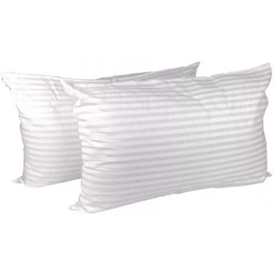 Holo Fiber Pillow - White (Pack Of 2)