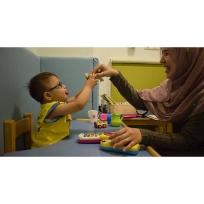 Support Speech Therapy for a child with Down syndrome