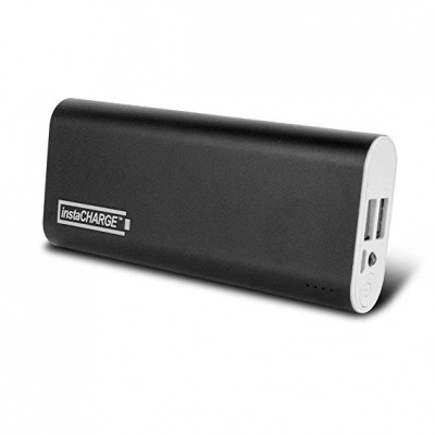 InstaCharge Dual-Plug 22000mAh Power Bank For Tablets And Phones
