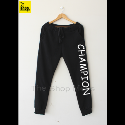 CHAMPION Black Trouser For Men - CB-FM1
