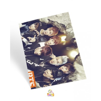 Bangtan Boys bts sticker poster