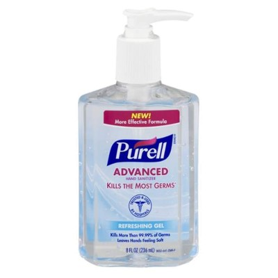 Advance Hand sanitizer Kill the most Germs Refreshing Gel  236 ML