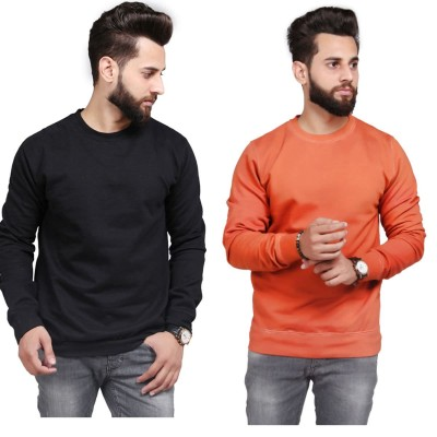 Black Rust Sweatshirt For Men