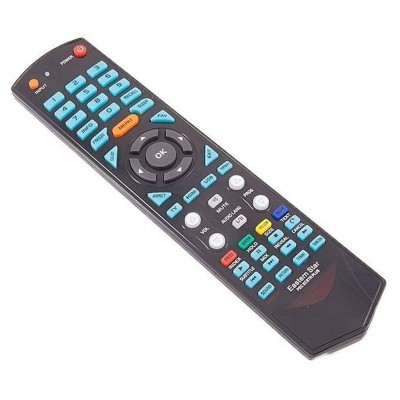 Universal Black Remote For Eco Star Led Lcd Tv