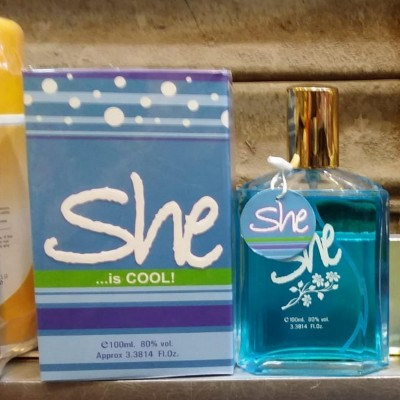 She Cool Perfume Pour femme - 100Ml