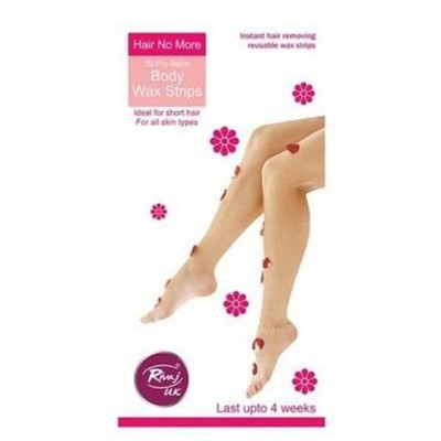 Body No More Hair Wax Strips-Pack of 20
