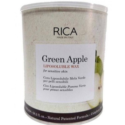Rica Green Apple Liposoluble Wax Sensitive Skin-800ml
