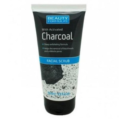 Activated Charcoal Facial Scrub-150Ml