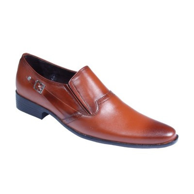 Brown Formal Leather shoes-L1025C