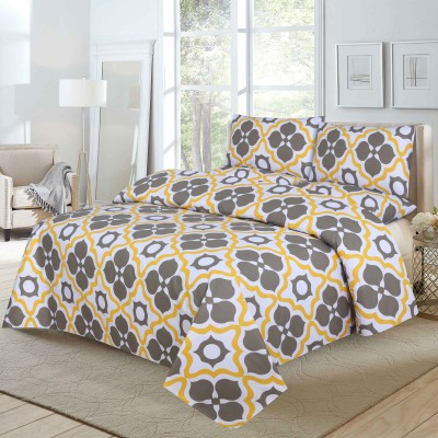 Queen Size Cotton Printed Bed Sheet