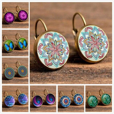 Vintage Retro Earrings