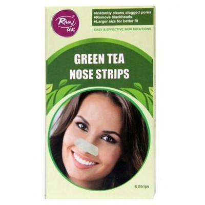 Green Tea Nose Strips-Pack of 6