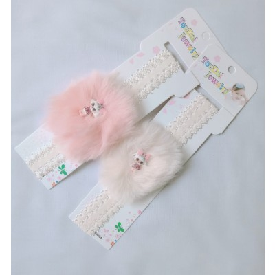 Pack 2 Dolls Hair Bands