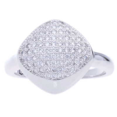 Silver Sterling Metal Ring-UA786140PK