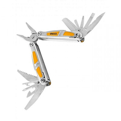 Silver Foldable Multifunction Tool