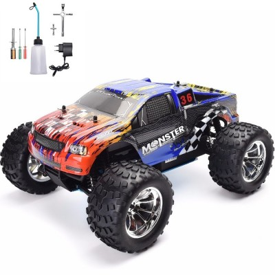 Remote Control Nitro Gas Power Petrol Truck 4Wd Hsp 94188 With Tool Kit