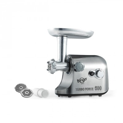 Deluxe Meat Grinder - Silver - MG-600