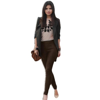 Brown Leather Pant