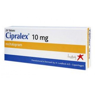 Cipralex 10Mg Price 28 Tablets (Made In Usa)