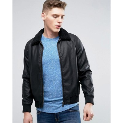 High street Black Faux Leather Jacket