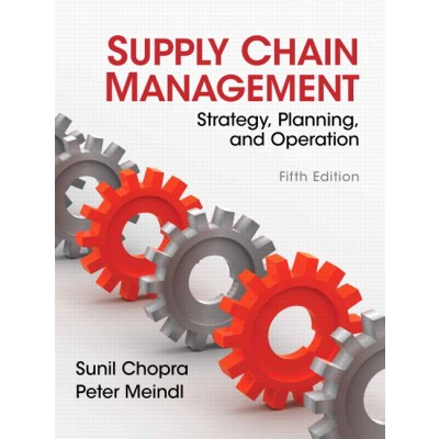 Supply Chain Management by Sunil Chopra Book 5th edition