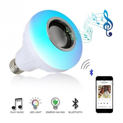 Rubian Bluetooth Speaker Bulb With Remote
