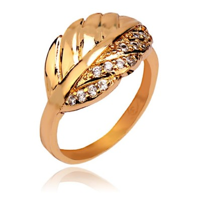 18-K Gold Plated Stylish - 11073 Ring