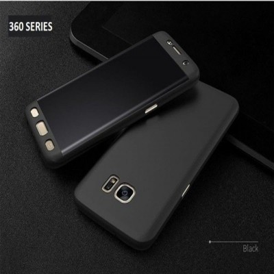 Samsung S5 360 Case with Glass Protector - Black