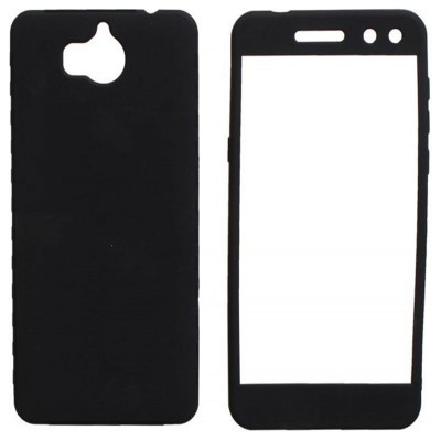 Huawei Honor 9 Lite 360 Case with Glass Protector - Black