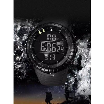Suunto Sports Watch Black Dial With Black Strap