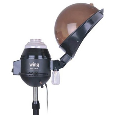 Hair Steamer With Stand - H-102 - Black