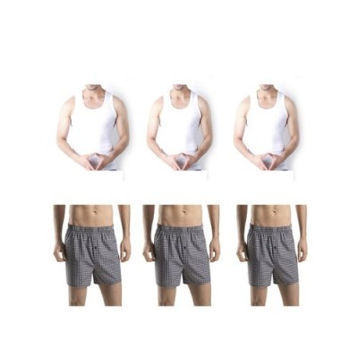 Pack of 6-Multicolour Cotton Boxer &  Inner Brief for Men-XL