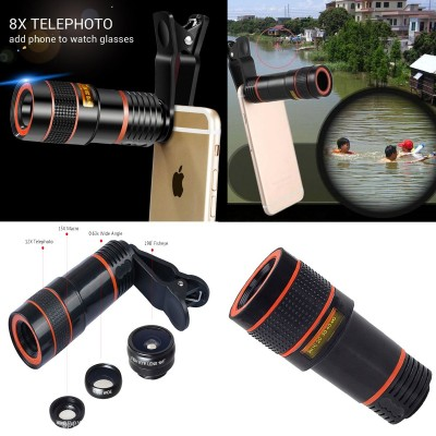 4 in 1 Camera Lens for Tiktokers | Youtubers | Video Making and much more