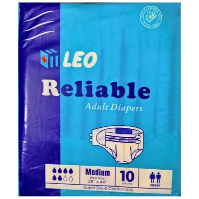 Reliable Adult Diaper Medium - 10 Pcs