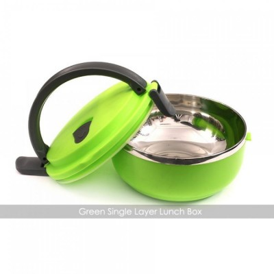 1 Layer Stainless Steel Lunch Box multi colour