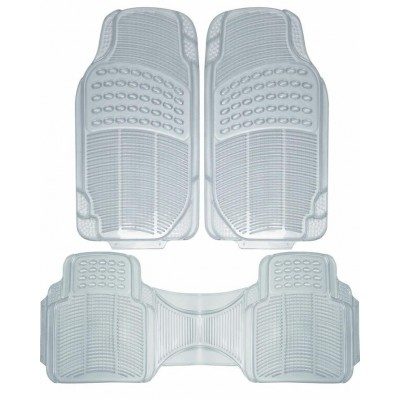 Universal Rubber Floor Mats For All Cars Transparent