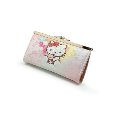 Cartoon Printed Hand Clutch For Girls - Casual Use clutch - Pink Colors - BG217